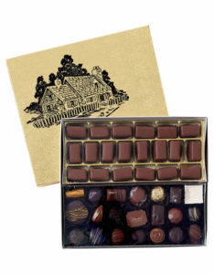 2 Section Gift Box (All Chocolates)