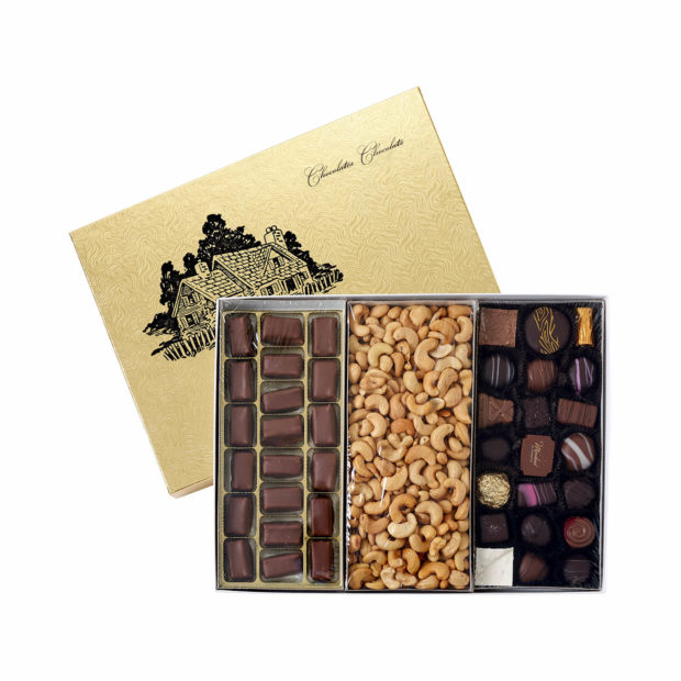 3 Section Gift Box