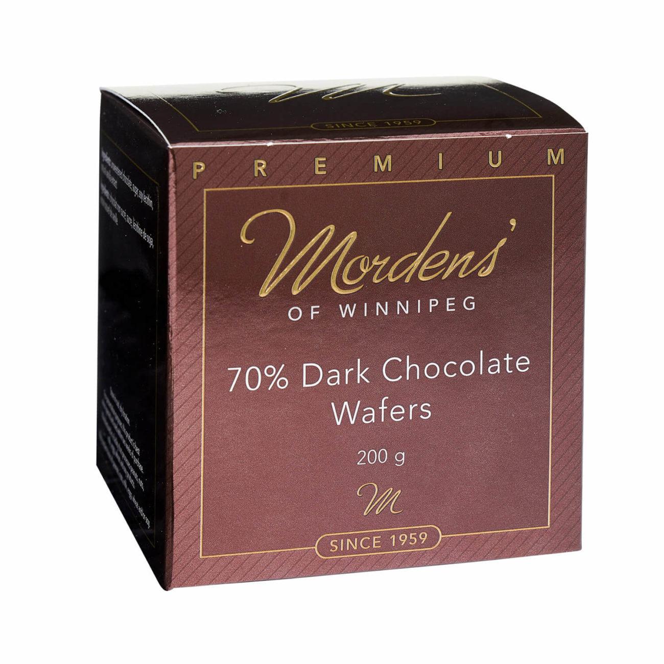 70% Dark Chocolate Wafers