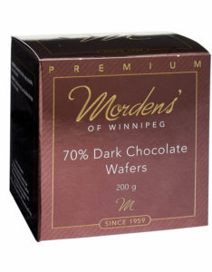70% Dark Chocolate Wafers