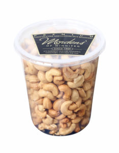 Mordens' Premium Roasted Cashews *No Salt*