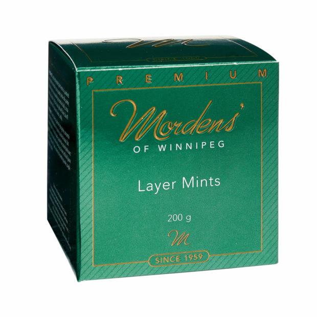 Green Layer Mints