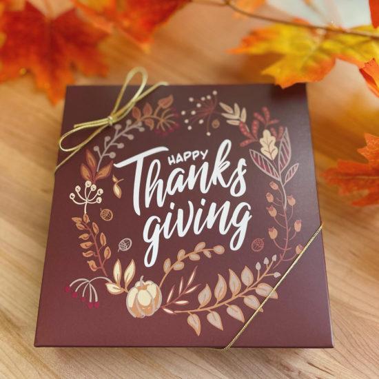 Happy Thanksgiving Gift Box